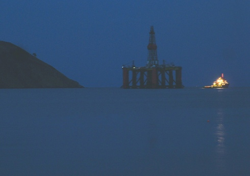 The Last Oil Rig, by ccgd